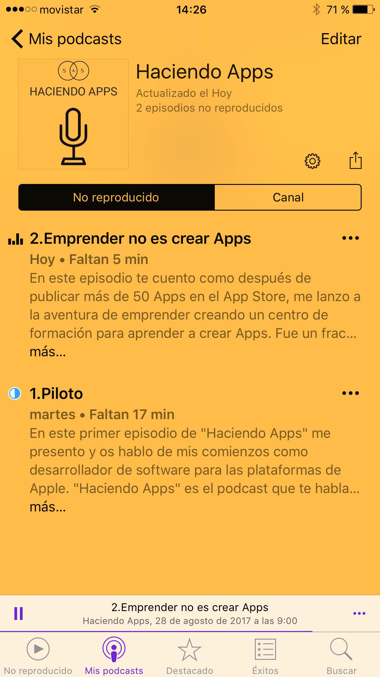 Haciendo Apps - El Podcast2