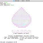 Vapor, el Framework para usar Swift desde el lado del servidor